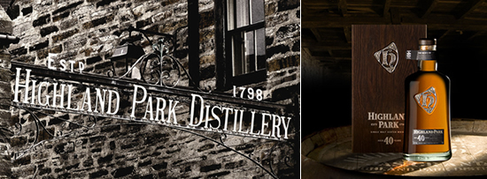 Highland Park Distillery – Kirkwall, Orkney Islands, Escócia