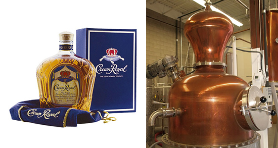 Crown Royal Distillery – Gimli, Manitoba, Canadá